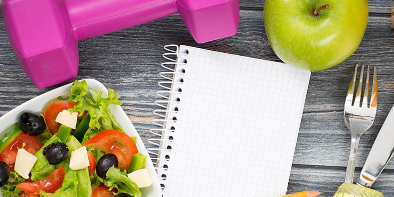 Healthy food exercise equipment and bipolar medication management list