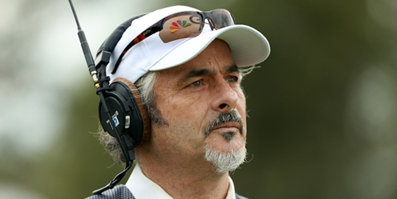 Golf celebrity David Feherty