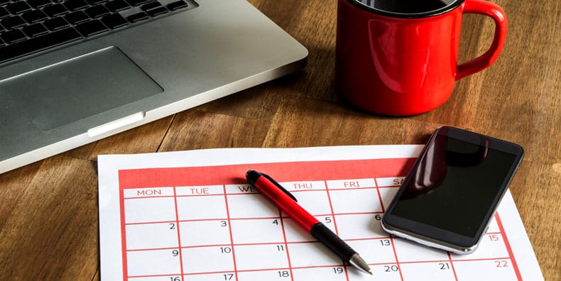calendar-coffee-computer-smartphone-planning-routine-bipolar-maintenance-stability